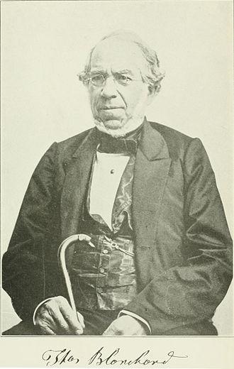 Thomas Blanchard (inventor) - Thomas Blanchard in his later years
