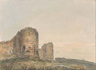 Pevensey Castle, Sussex