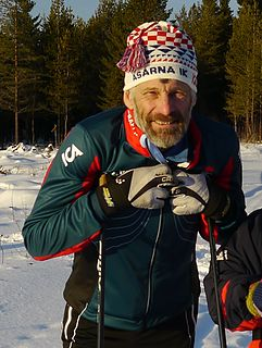 Thomas Wassberg Swedish cross-country skier