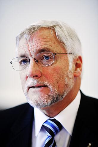 Thor Pedersen - Image: Thor Pedersen, finansminister Danmark, under sessionen i Kopenhamn 2006
