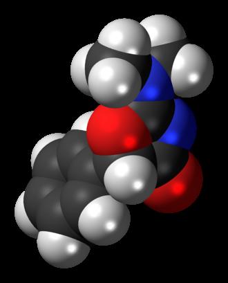 Thozalinone - Image: Thozalinone molecule spacefill