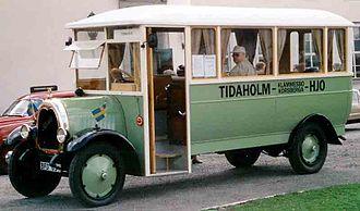 Tidaholms Bruk - Tidaholm TSLO Bus 1925