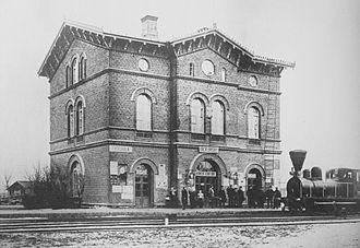 Vantaa - The old station building of Tikkurila