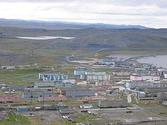 Tiksi - View of Tiksi