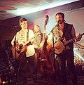 Tim Neufeld & The Glory Boys in concert in Ancaster, Ontario.jpg