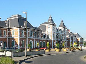 Miskolc Tiszai railway station - Tiszai Station main building