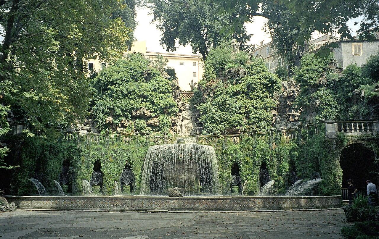 Fontana dell'Ovato Fontanna owalna