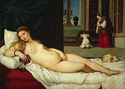 Tiziano Vecelli: Venus of Urbino