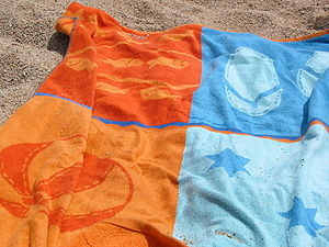 Towel - A beach towel