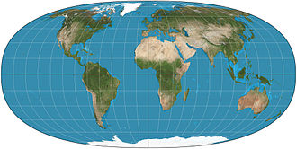 Map projection - Image: Tobler hyperelliptical projection SW