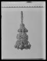 Tofsar, 18 stycken av silver och guld - Livrustkammaren - 53686.tif