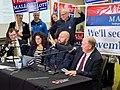 Tom Hewitt, Sabrina Combs, Jeff Landfield, and Governor Bill Walker (46131924502).jpg