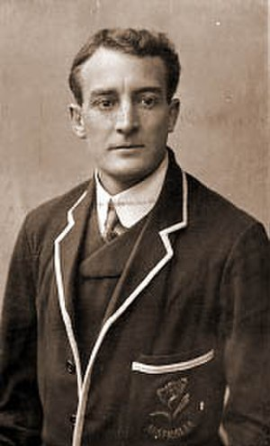 Tom Richards (rugby union) -  Richards on the 1908 Wallabies tour.