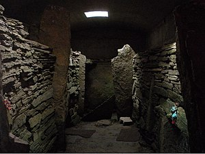 South Ronaldsay - Inside the Tomb of the Eagles