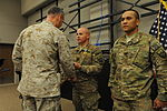 Top US Military commander in Afghanistan recognizes XVIII Airborne Corps troops 140803-A-CC123-001.jpg