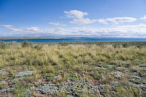 Erzinsky District - Lake Tore-Khol, a protected area of Russia in Erzinsky District