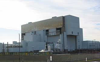 Advanced Gas-cooled Reactor - AGR power station at Torness