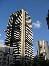 Banco Provincial Building Headquarters in Caracas .