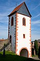 Torturm der Wehrkirche in Wersau.jpg