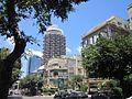 Tower building somewhere in Tel Aviv(?), Israel.jpg