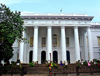 Kolkata Town Hall building in India