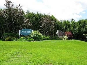 Austin, Quebec - Image: Town of Austin, Quebec