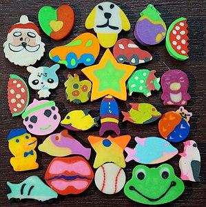 Eraser - Fragrant toy erasers for children