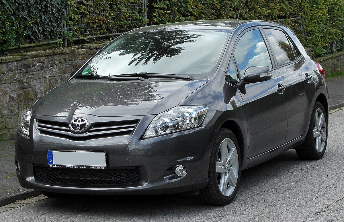 toyota auris wikidata. Black Bedroom Furniture Sets. Home Design Ideas