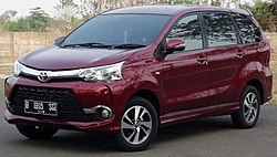 Facelifted Avanza