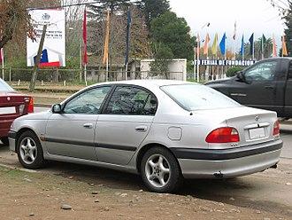 Toyota Avensis - Sedan (pre-facelift)