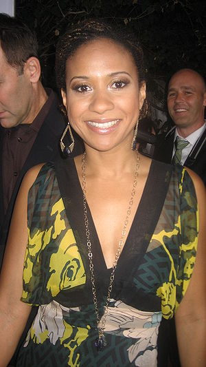 Tracie Thoms at the L.A. Confidential/Belveder...