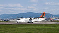 Transasia Airways ATR 72-212A B-22807 Departing from Taipei Songshan Airport 20150103a.jpg
