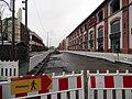 Travaux tram A devant Centr'Ill Illkirch-Graffenstaden 06122014.jpg