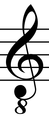 Treble clef with transposition.png