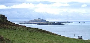 Treshnish Isles - Image: Treshnish Isles from above Port Haunn