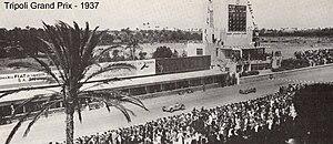 Tripoli Grand Prix - 1937 Tripoli Grand Prix.