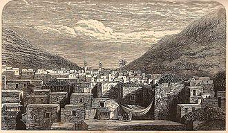 Nabulsi soap - Nablus in the 19th century