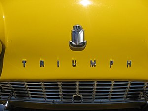 "Triumph TR3 - Although the facelifted TR3 is often referred to as the TR3A, it is badged as ""Triumph TR3"""