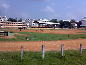 Central Stadium (Thiruvananthapuram) - Image: Trivandrum Central stadium