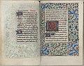 Trivulzio book of hours - KW SMC 1 - folios 095v (left) and 096r (right).jpg
