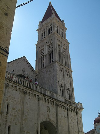 Trogir Cathedral - Bell Tower of St. Lawrence