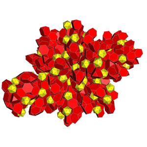 Truncated 120-cells - Net