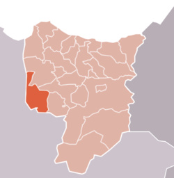Location of kassita in Driouch Province