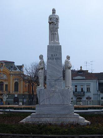 Jovan Nenad - Jovan Nenad monument in Subotica.