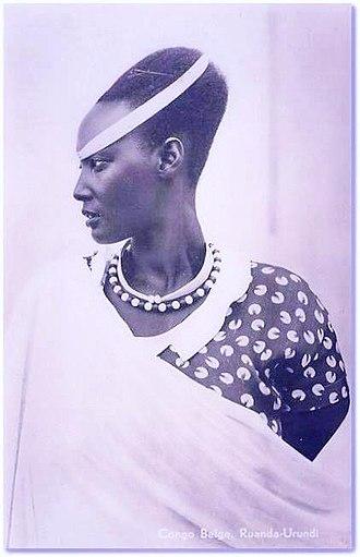 Tutsi - Tutsi princess Emma Bakayishonga, sister of Rosalie Gicanda