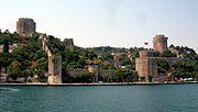 Rumelihisarı on the Bosporus