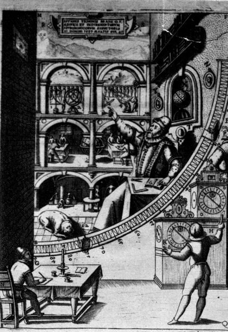 Tycho brahe a picture of scientific life and work in the for Tycho brahe mural quadrant
