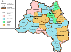 Tyne and Wear - Image: Tyne and Wear County