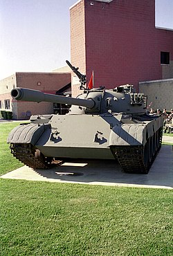 Stridsvagn T-69 Typ II