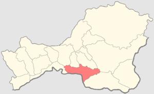 Tes-Khemsky District - Image: Tyva Tes Khemsky kozhuun